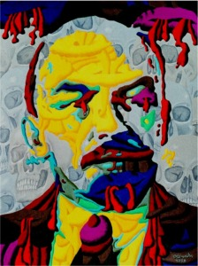 Horvath: Lenin shaped by skulls