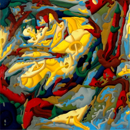 A Tribute to Franz Marc - the Tiger